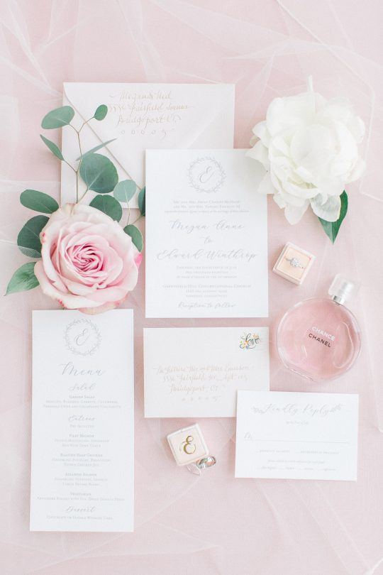 Stylish Pink Country Club Wedding Cassi Claire Photography04