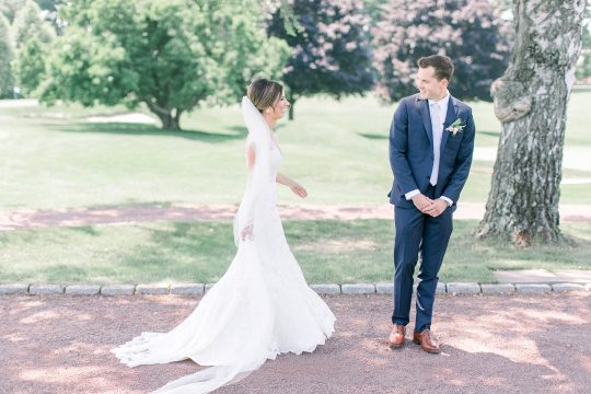 Stylish Pink Country Club Wedding Cassi Claire Photography07