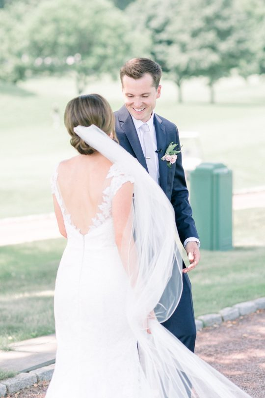 Stylish Pink Country Club Wedding Cassi Claire Photography08