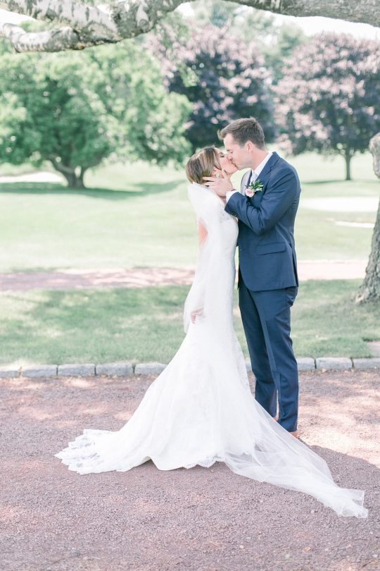 Stylish Pink Country Club Wedding Cassi Claire Photography09