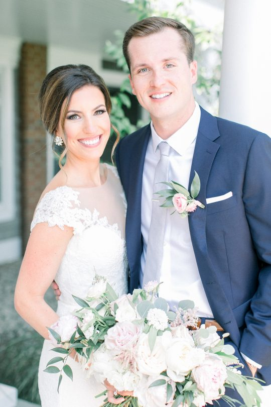 Stylish Pink Country Club Wedding Cassi Claire Photography13