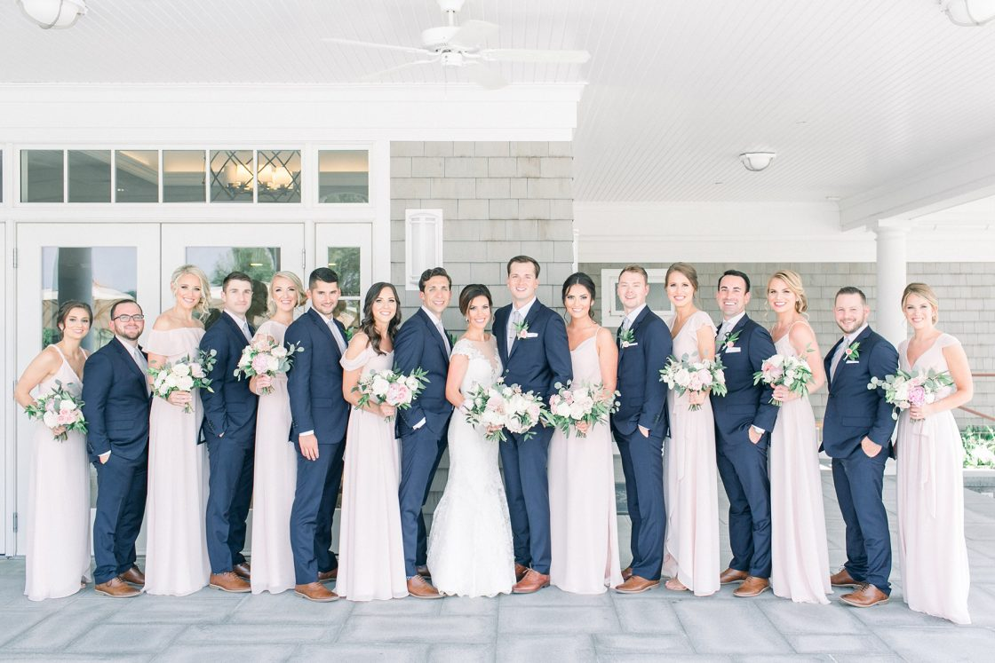 Stylish Pink Country Club Wedding Cassi Claire Photography14