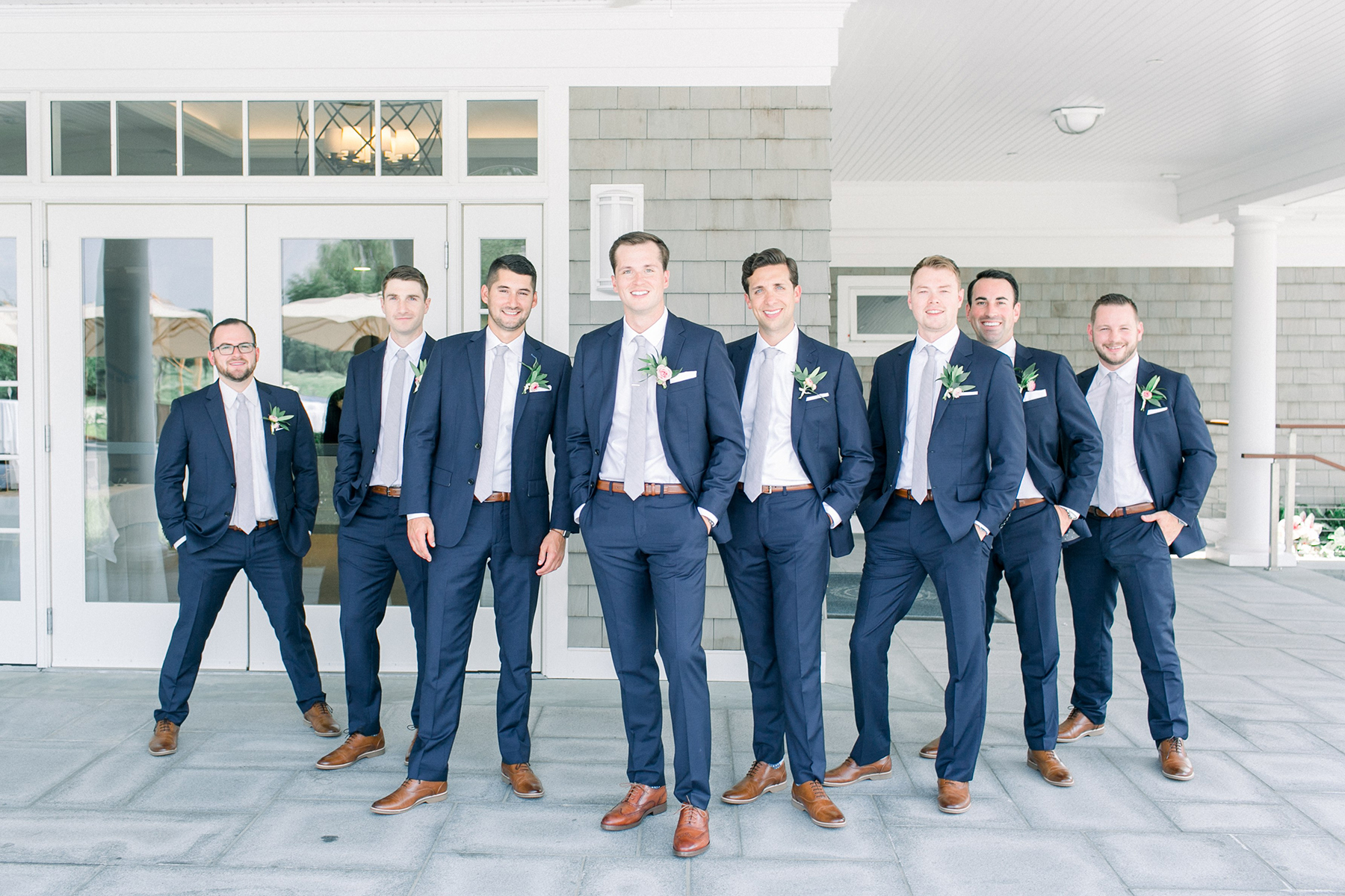 Stylish Pink Country Club Wedding Cassi Claire Photography15