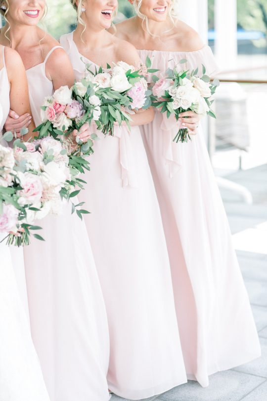Stylish Pink Country Club Wedding Cassi Claire Photography16