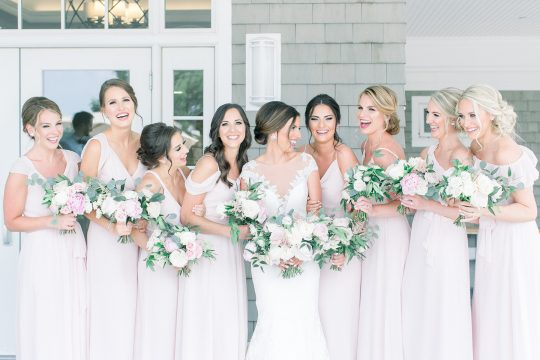 Stylish Pink Country Club Wedding Cassi Claire Photography17