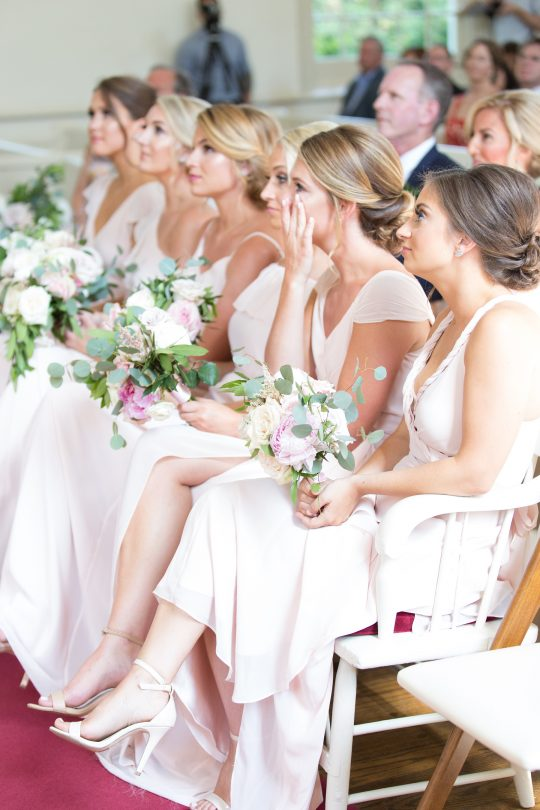 Stylish Pink Country Club Wedding Cassi Claire Photography21