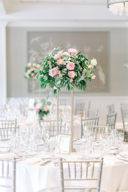Stylish Pink Country Club Wedding Cassi Claire Photography27