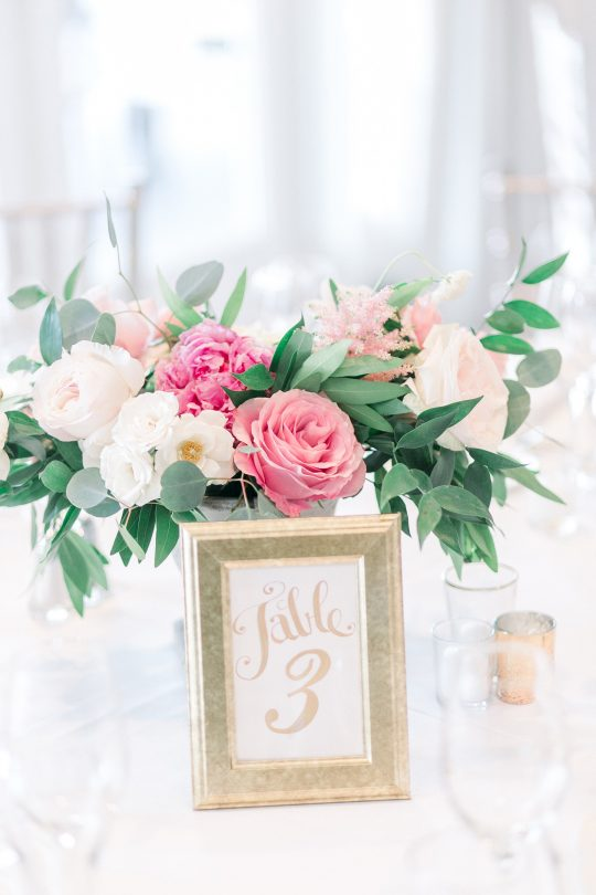 Stylish Pink Country Club Wedding Cassi Claire Photography30