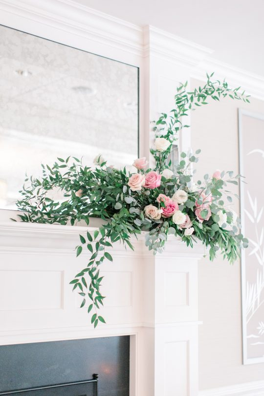 Stylish Pink Country Club Wedding Cassi Claire Photography31
