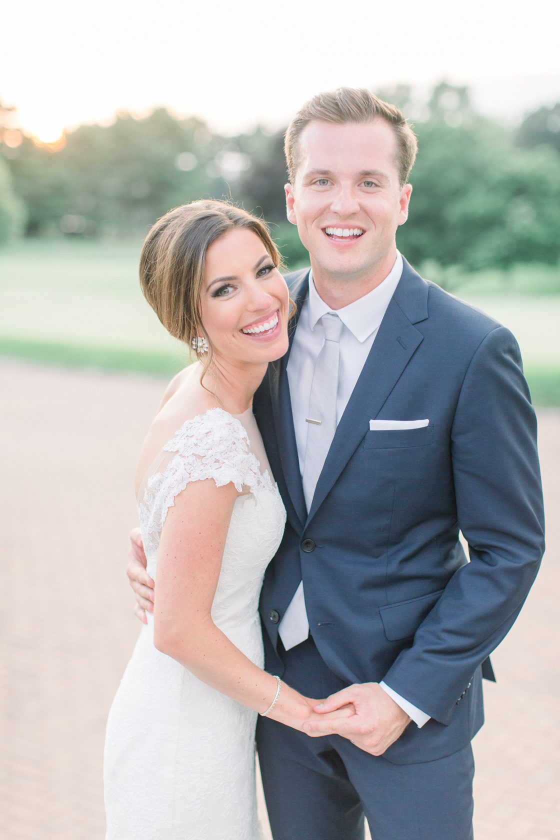 Stylish Pink Country Club Wedding Cassi Claire Photography36