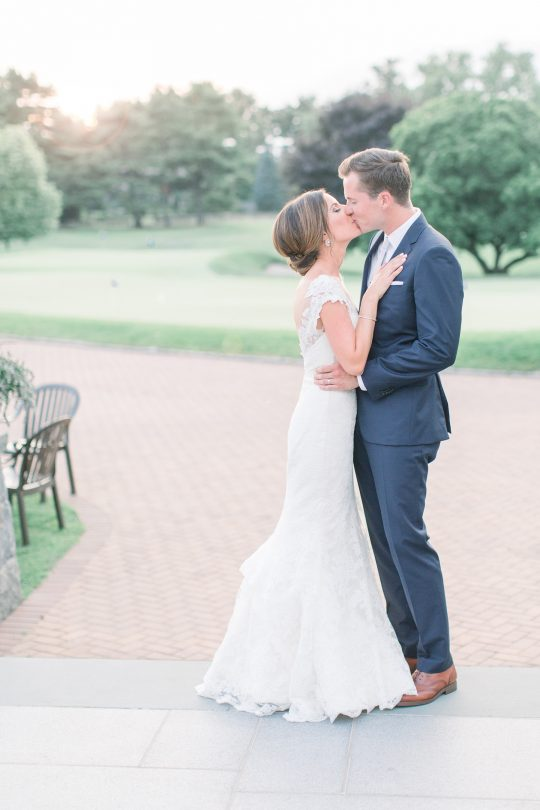 Stylish Pink Country Club Wedding Cassi Claire Photography37