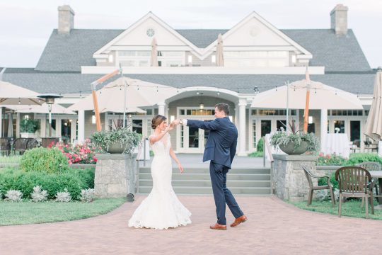 Stylish Pink Country Club Wedding Cassi Claire Photography38