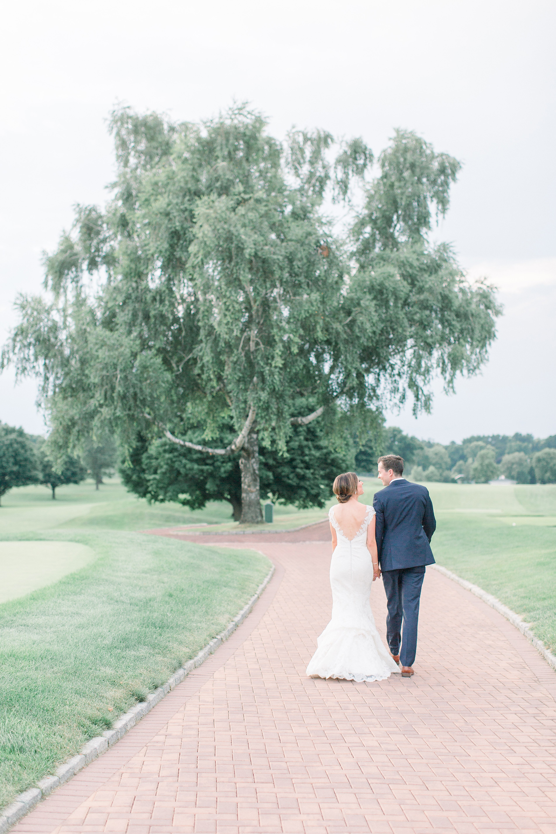 Stylish Pink Country Club Wedding Cassi Claire Photography39