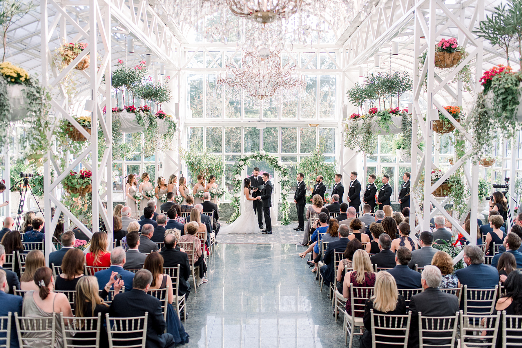 Timeless Conservatory Wedding with Neutral Colors Cassi Claire Photography18