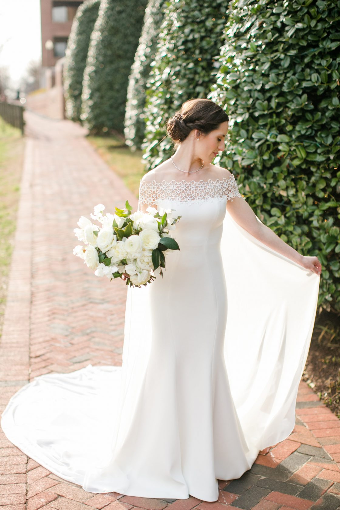 Timeless DC Wedding with Shades of Green Kristen Gardner Photography13