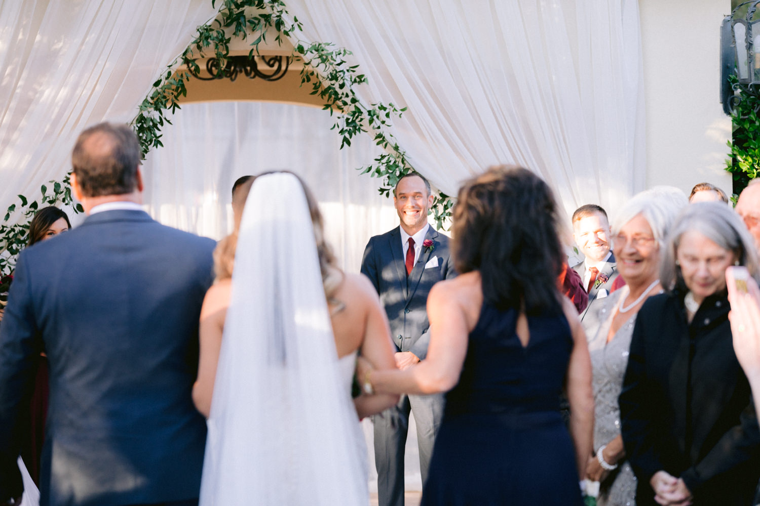 Traditional Burgundy and Navy Fall Wedding Susie and Will22