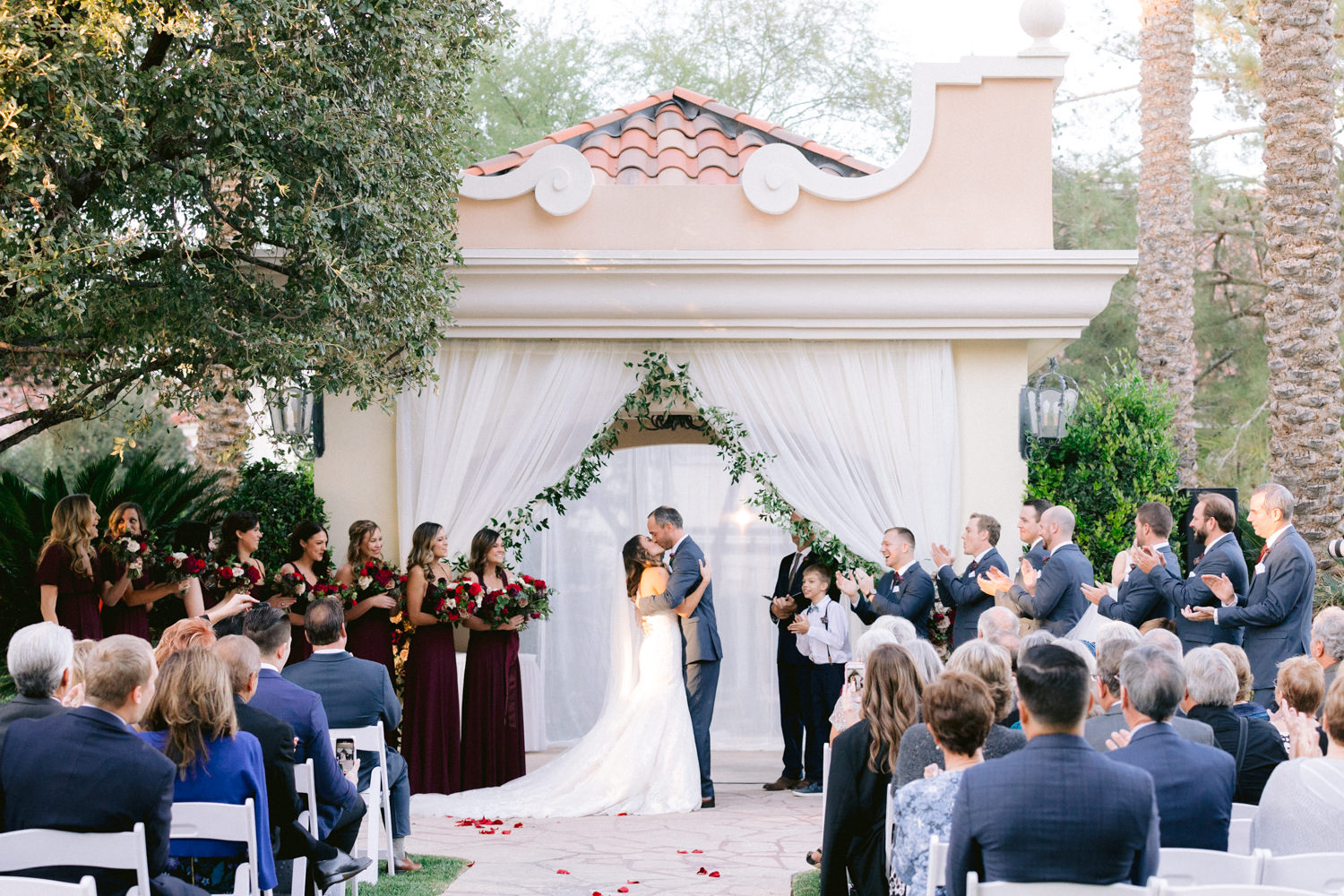 Traditional Burgundy and Navy Fall Wedding Susie and Will27