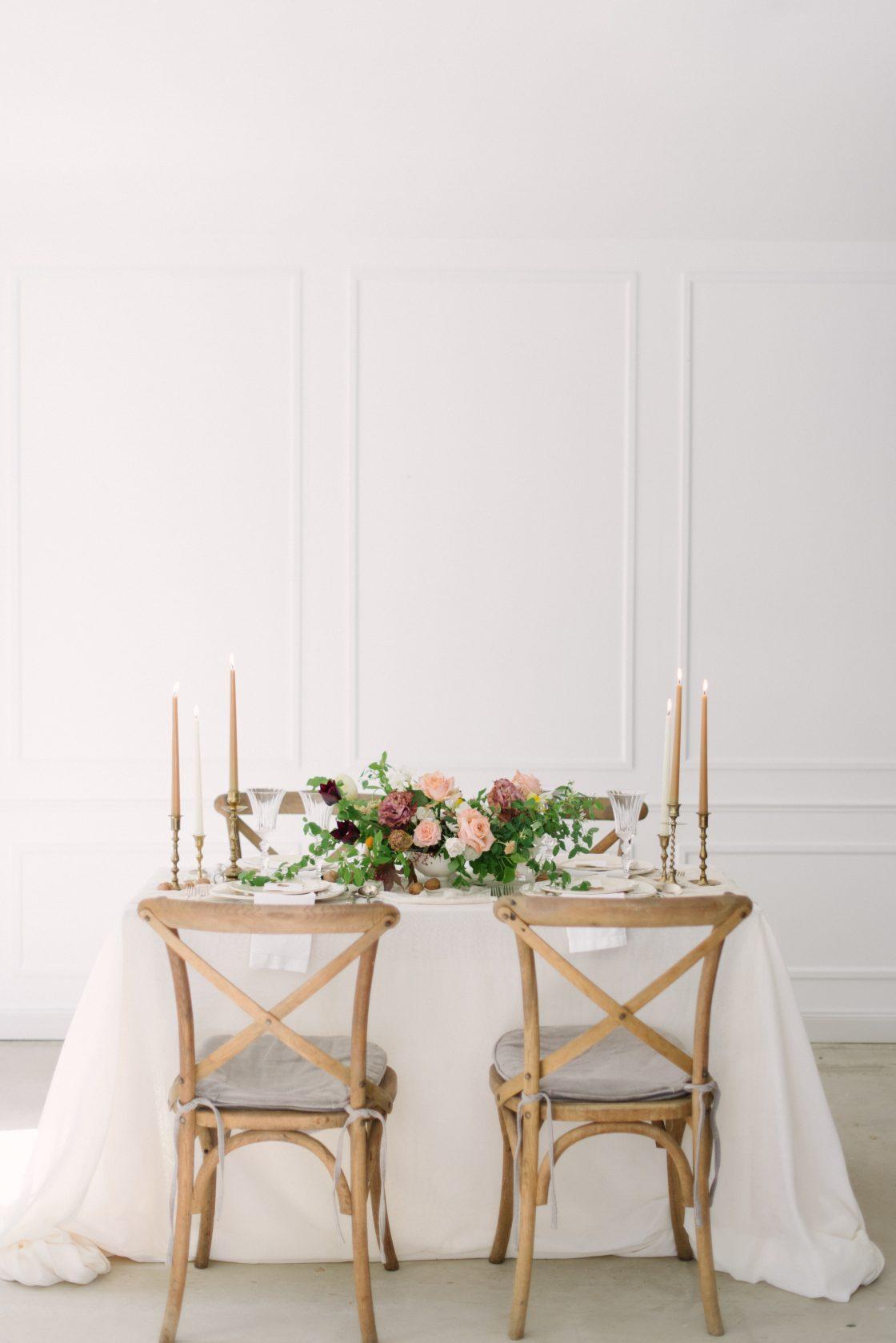 Elegant European Wedding Tablescape