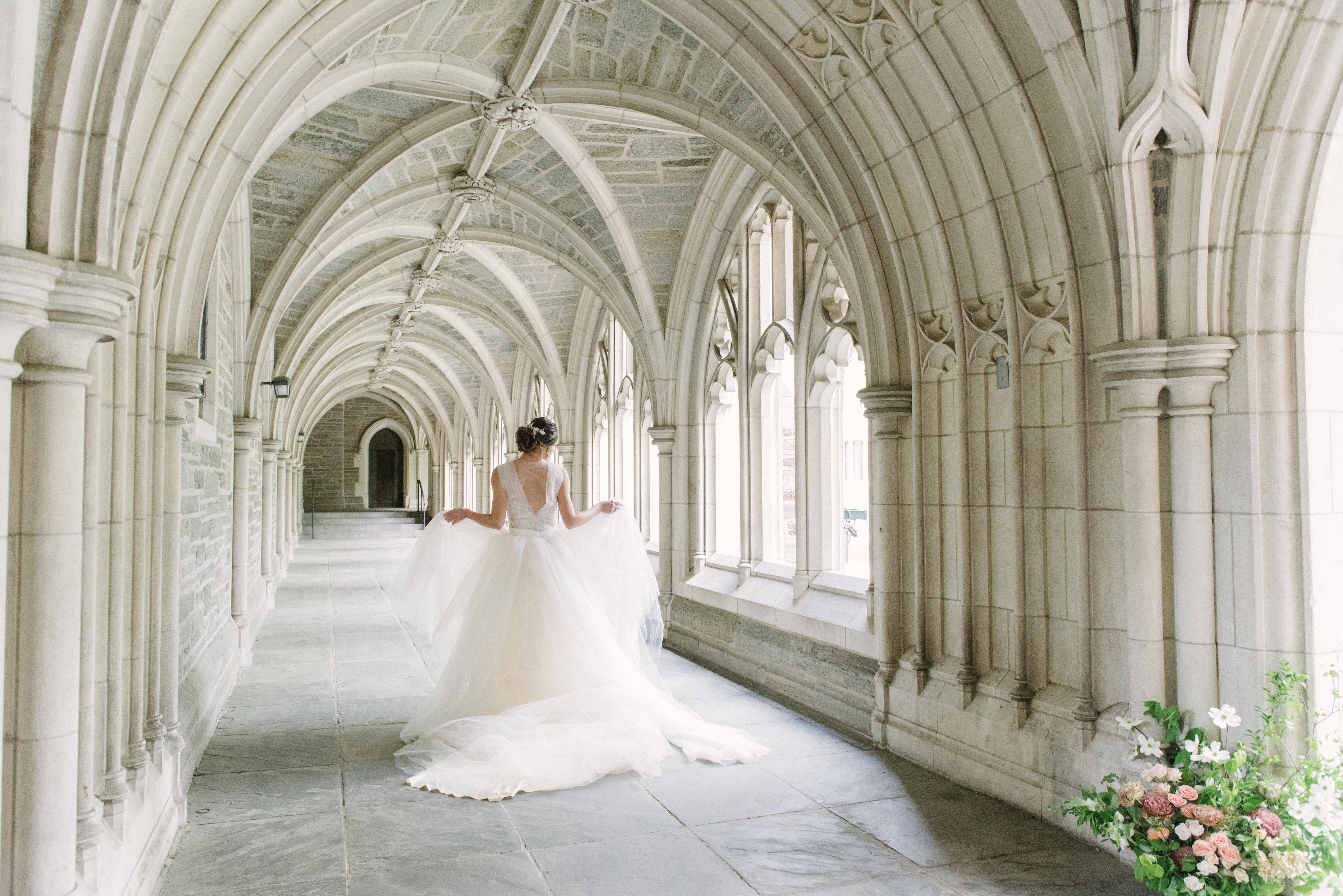 Gorgeous Romantic Wedding Gown