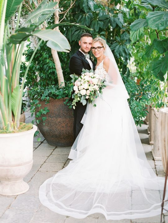 Botanical Conservatory Wedding in Michigan Kelly Sweet Photography11