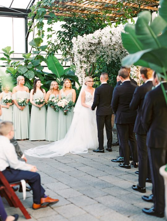 Botanical Conservatory Wedding in Michigan Kelly Sweet Photography34