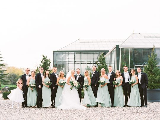 Botanical Conservatory Wedding in Michigan Kelly Sweet Photography39