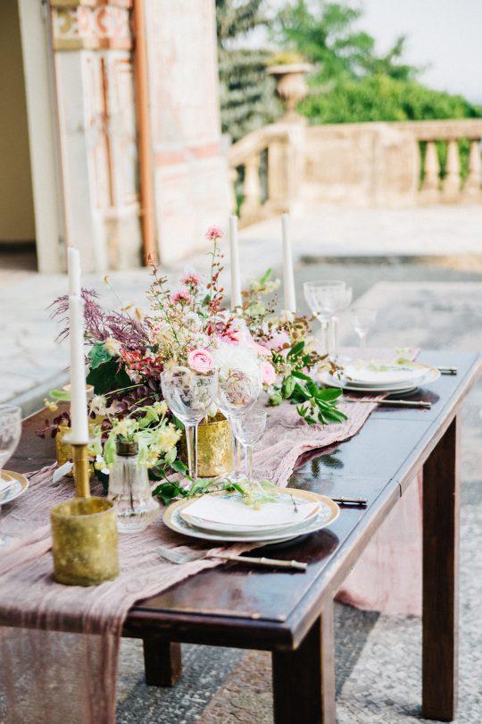 Old World Italian Villa Wedding Inspiration Duet Friday11