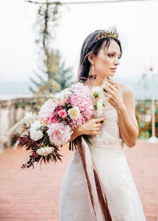 Old World Italian Villa Wedding Inspiration Duet Friday25