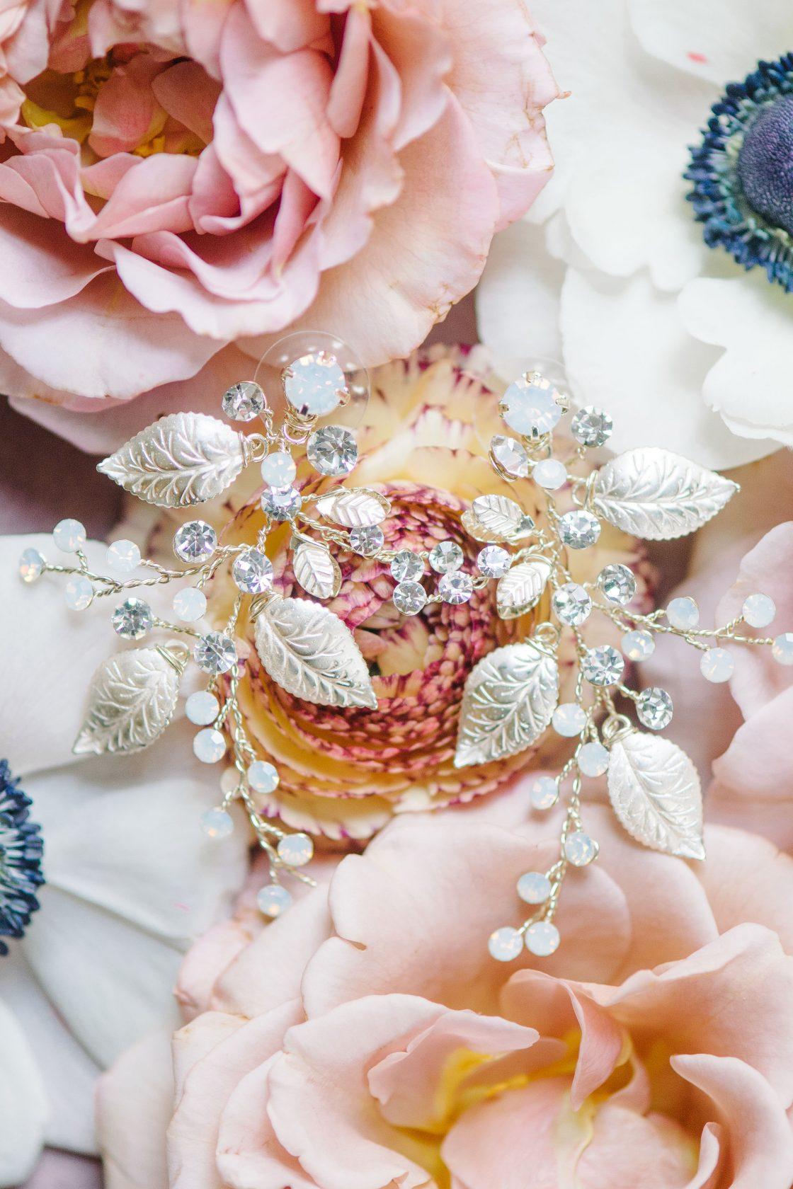 Beautiful Elegant Bridal Diamond Earrings