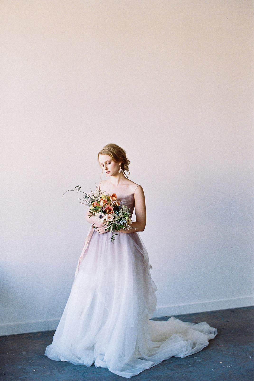 Etherial Spring Wedding Dress