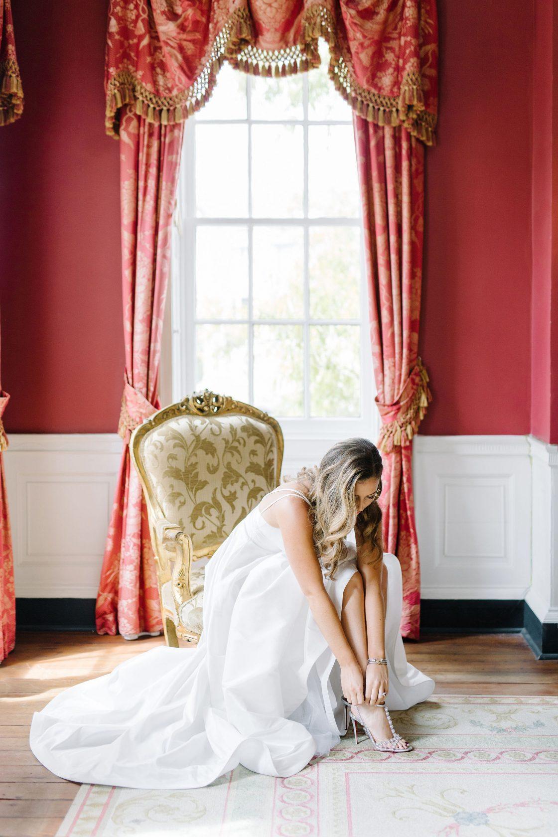Getting Ready Bridal Photo