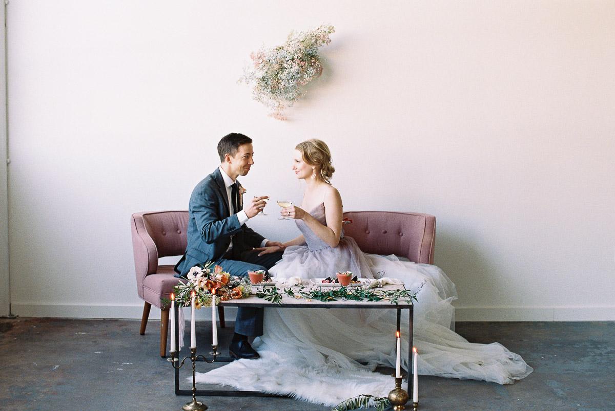Muted Pastel Wedding Inspiration