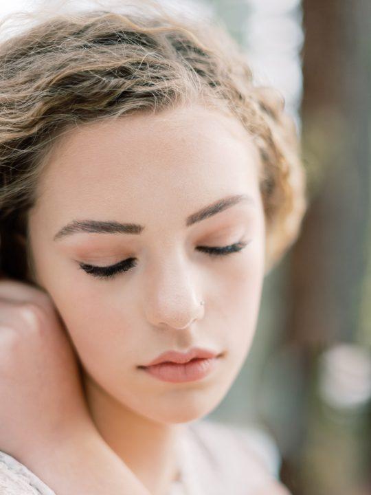 Romantic Forest Bridal Inspiration Grace Aston Photography11
