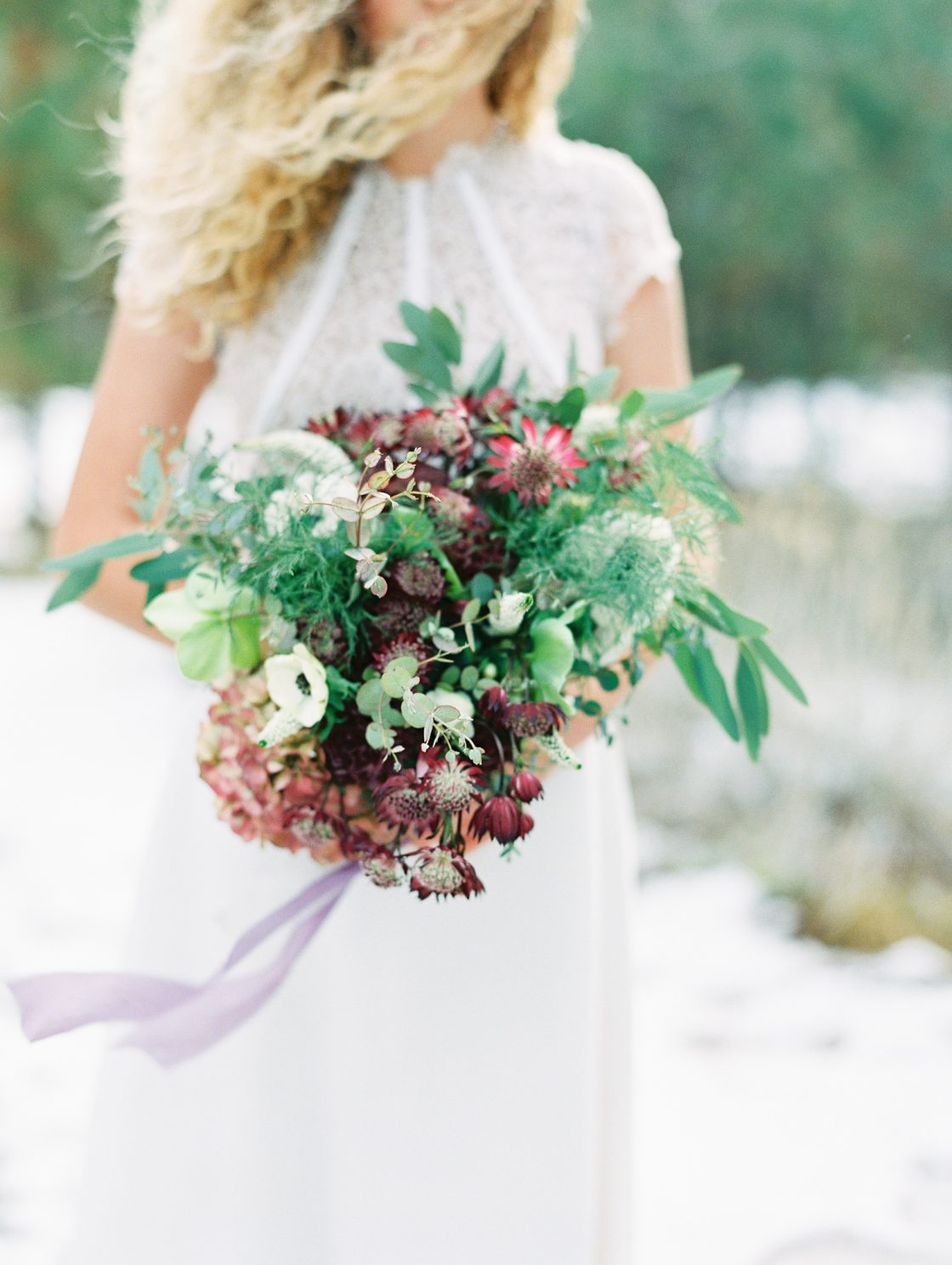 Romantic Forest Bridal Inspiration Grace Aston Photography12
