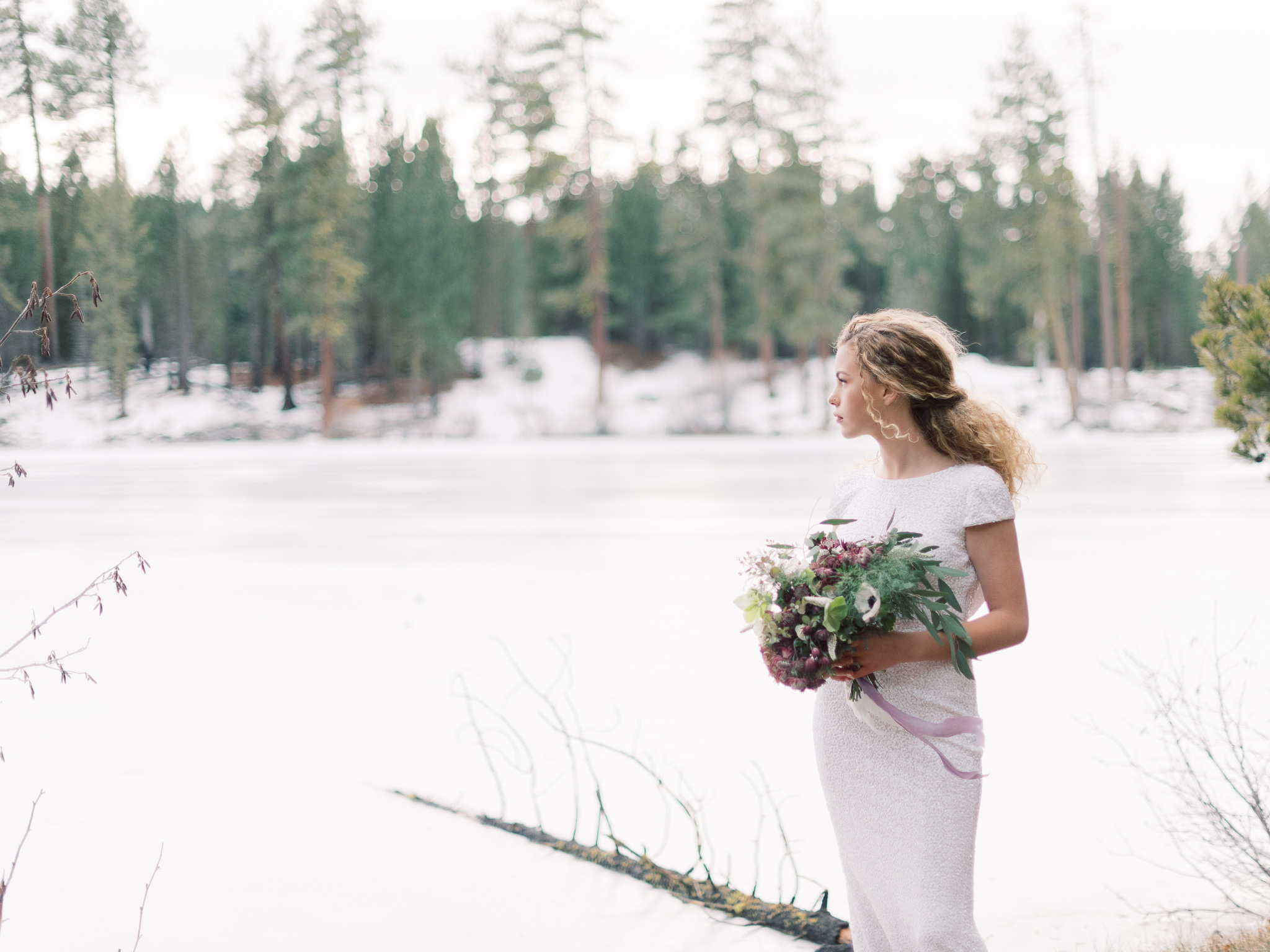 Romantic Forest Bridal Inspiration Grace Aston Photography22