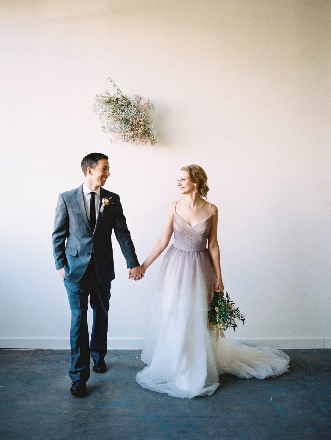 Romantic Organic Wedding Portrait