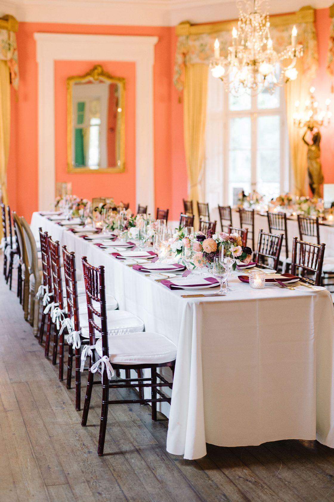 William Aiken House Wedding Reception