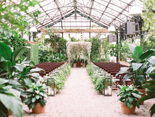Botanical Conservatory Wedding Ceremony