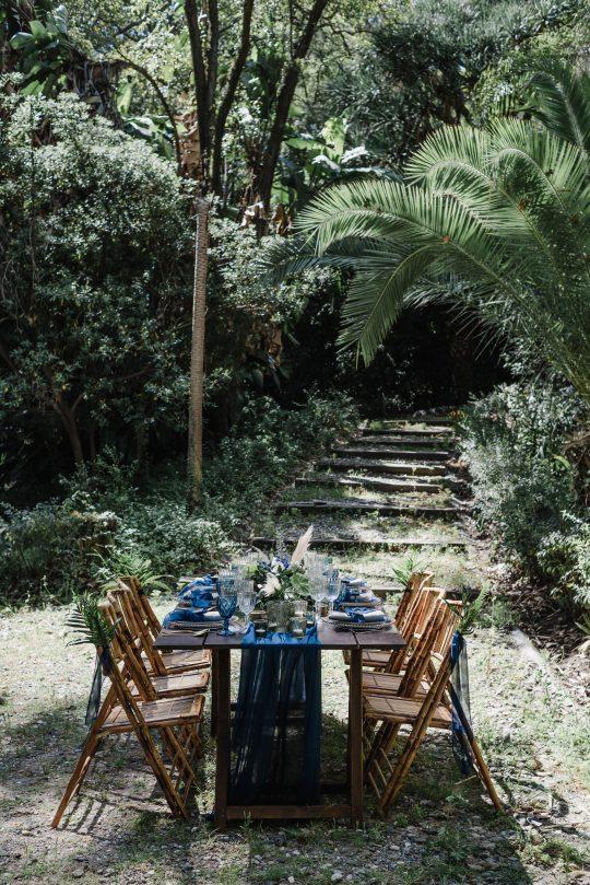 Botanical Garden Wedding Reception
