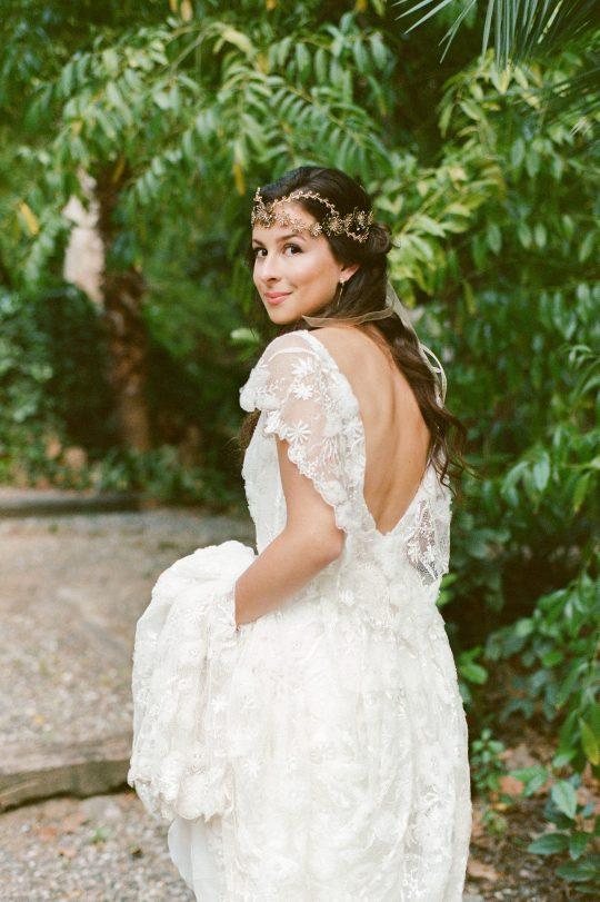 Botanical Wedding Crown
