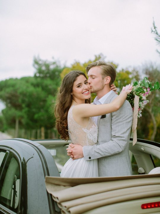 European Wedding Getaway Car