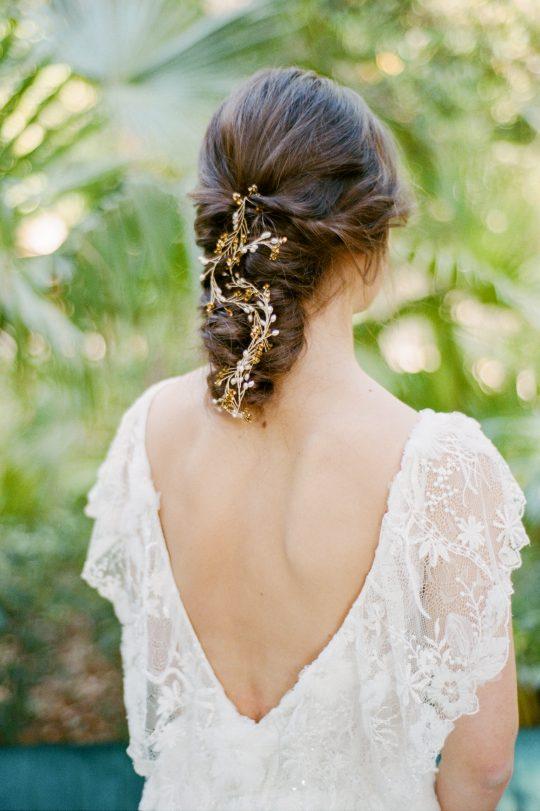 Floral Vine Wedding Hair Piece