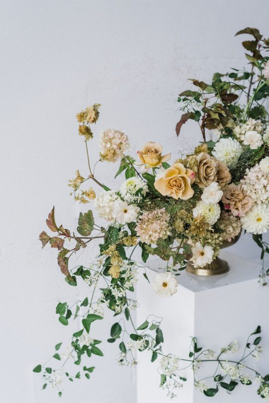 Impressionist Floral Arrangement