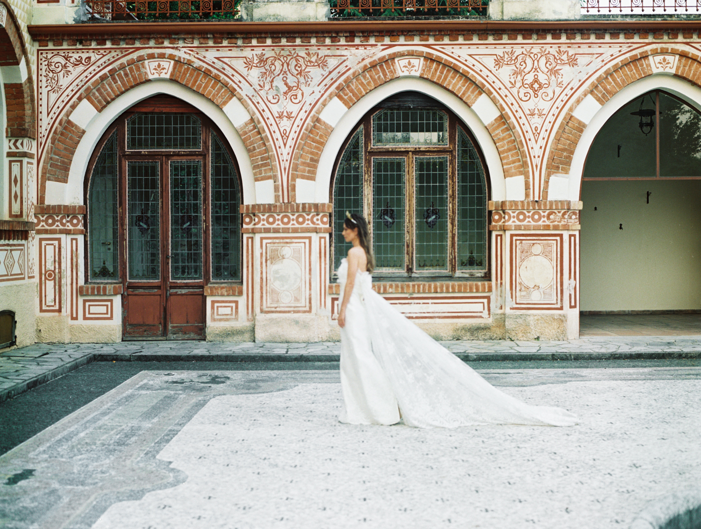 Italian Villa Courtyard Wedding