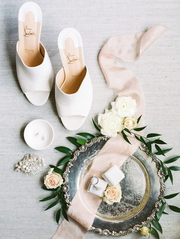 Louboutin Mules Wedding Shoes