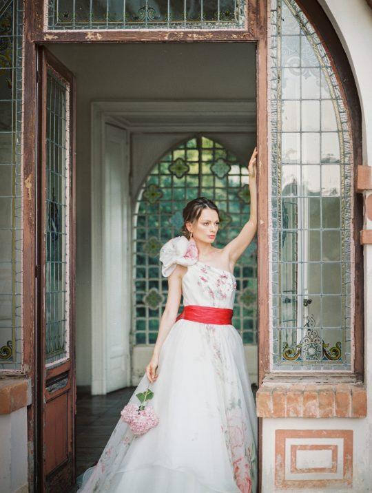 Mary Poppins Inspired Wedding Dress
