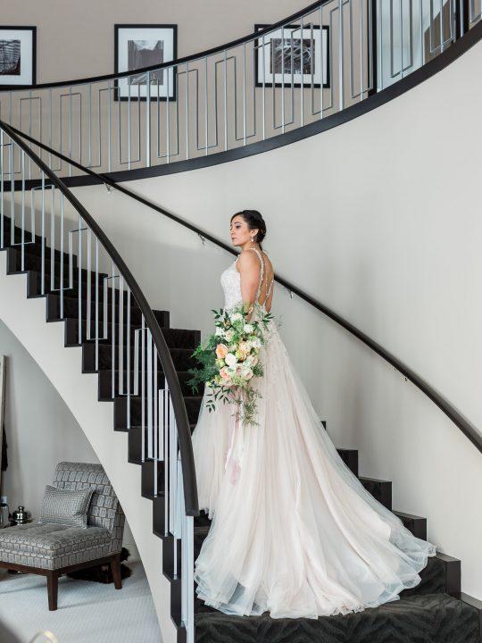 Modern Elegant Bridal Photos