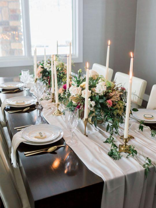 Modern Elegant Tablescape