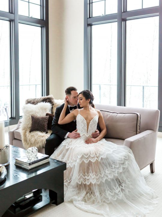 Modern Elegant Wedding Photos