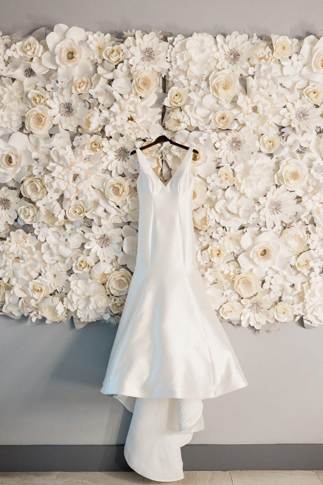 Monique Lhullier Wedding Gown